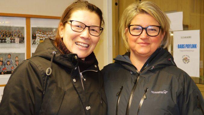 En bild på Lill Svedberg sekreterare och Åsa Lindin kordinator på Länsstyrelsen i Örebro