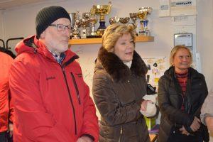 En bild på Pliggen, Landshövding Maria Larsson och Marie-Louise Forsberg Fransson