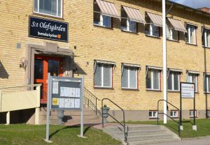 Café på S:t Olofsgården. @ Café på S:t Olofsgården.