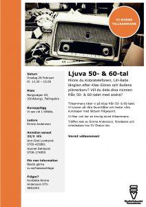 Ljuva 50- & 60-tal @ Olofsborg