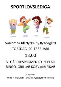 Sportlovslediga @ Nyckelby