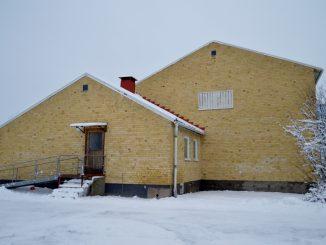 En bild på gamla gymnastiksalen